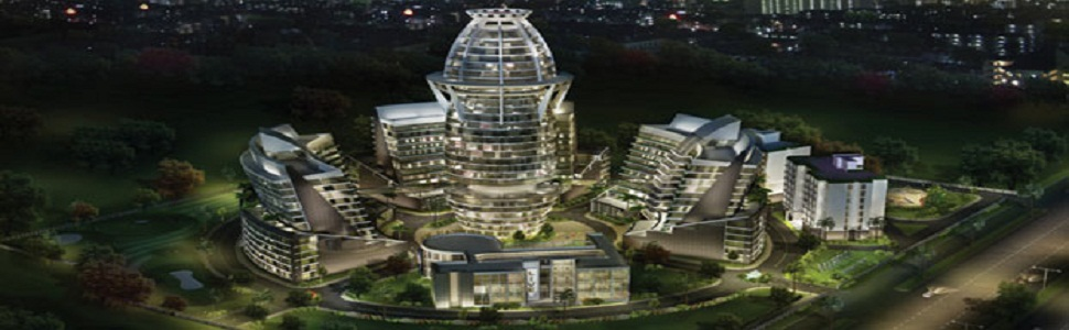 "Aquarius Business ParkOffering 12% Assured Return Scheme!!!!  Built on the unique concept of 'WORK || SHOP || LIVE || PLAY"", this truly international business park is spread across approx 1.8 million sq. ft. and has 3-multi tenanted corporate towers..."